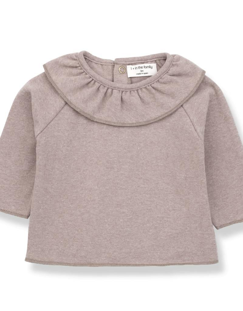 1+ in the Family clementina blouse- rose