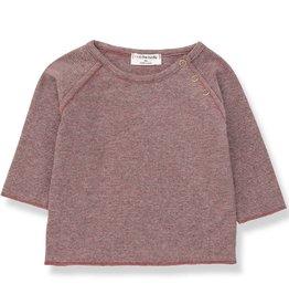 1+ in the Family eneko t-shirt- pruna/grey