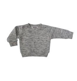 Go Gently Nation french terry crewneck- salt & pepper