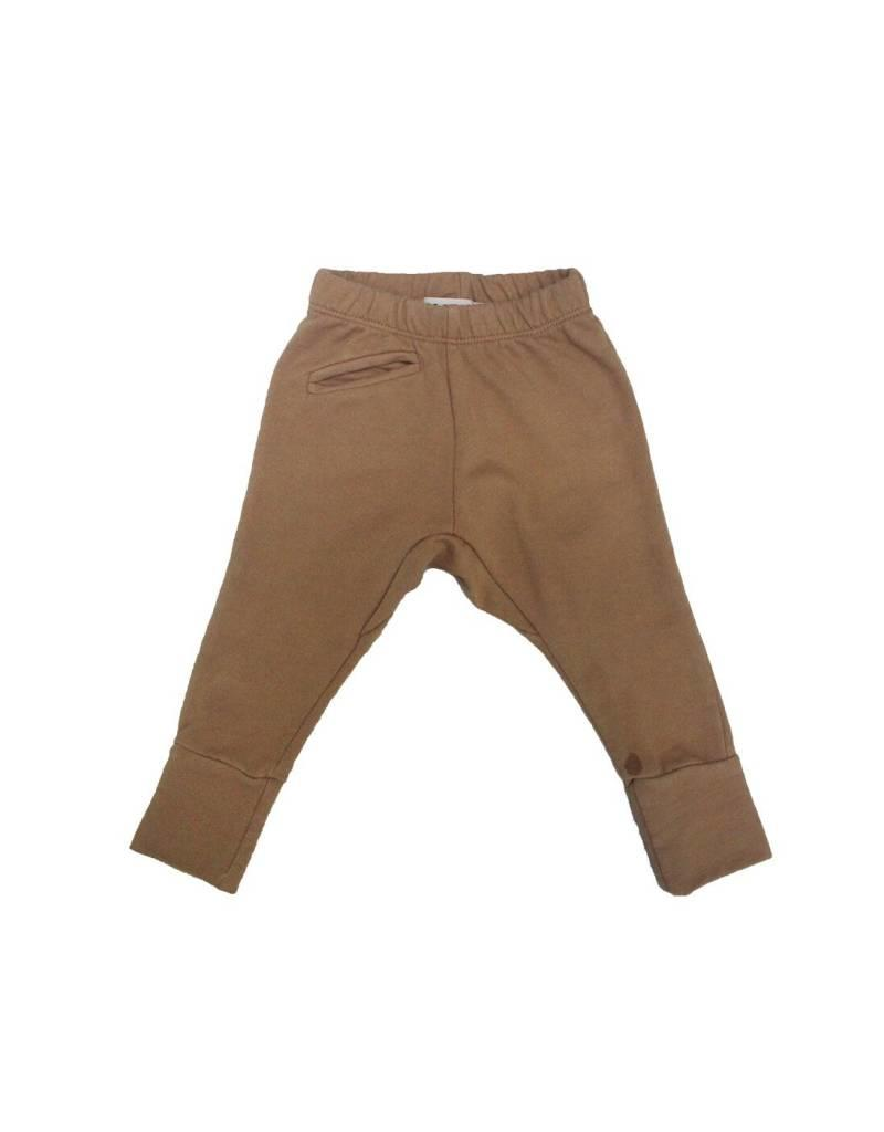 Go Gently Nation jogger- flax