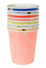Meri Meri multi color stars party cups