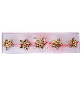 Meri Meri mini gold star garland