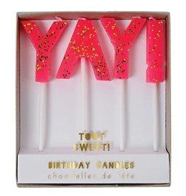 Meri Meri yay! candles