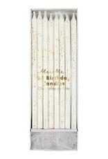 Meri Meri gold glitter birthday candles
