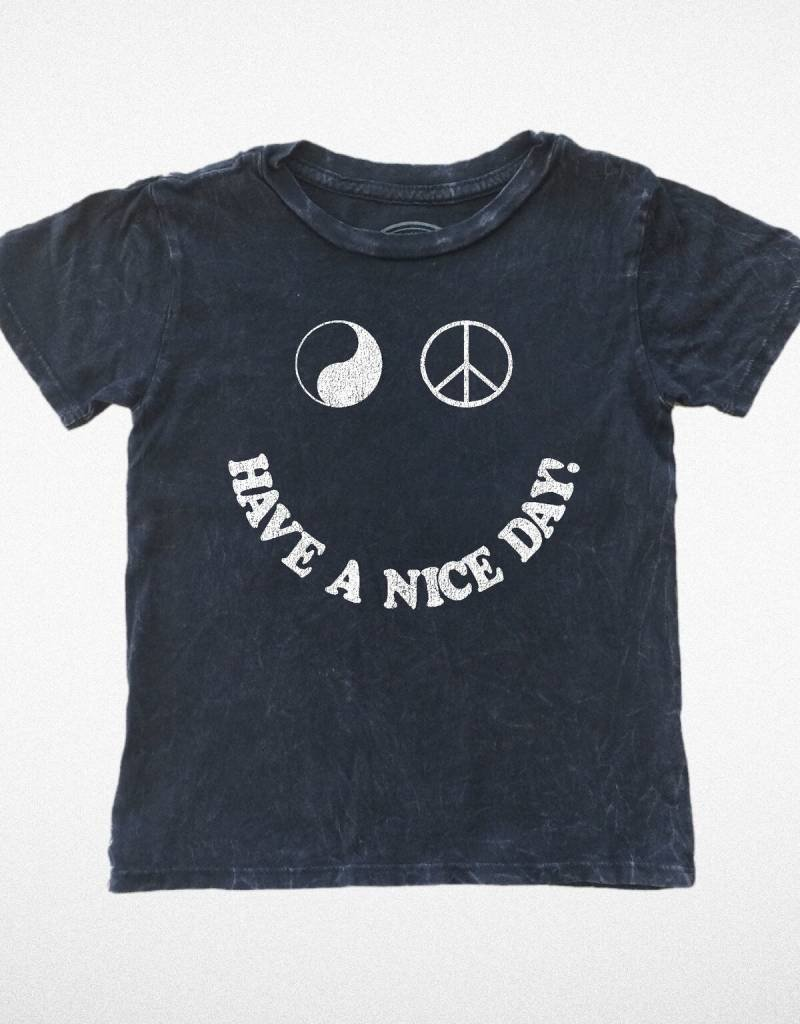 Tiny Whales have a nice day tee