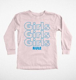 Tiny Whales girls rule tee