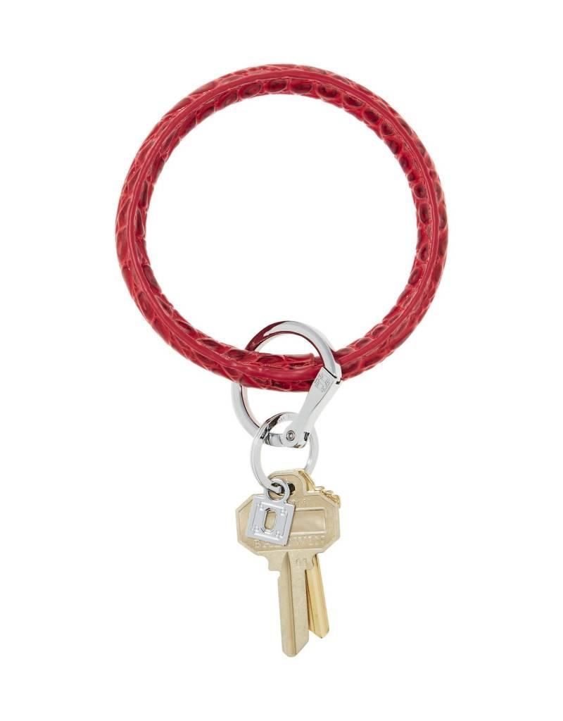 Big O Key Ring cherry on top crocodile