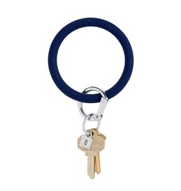 Big O Key Ring midnight navy silicone