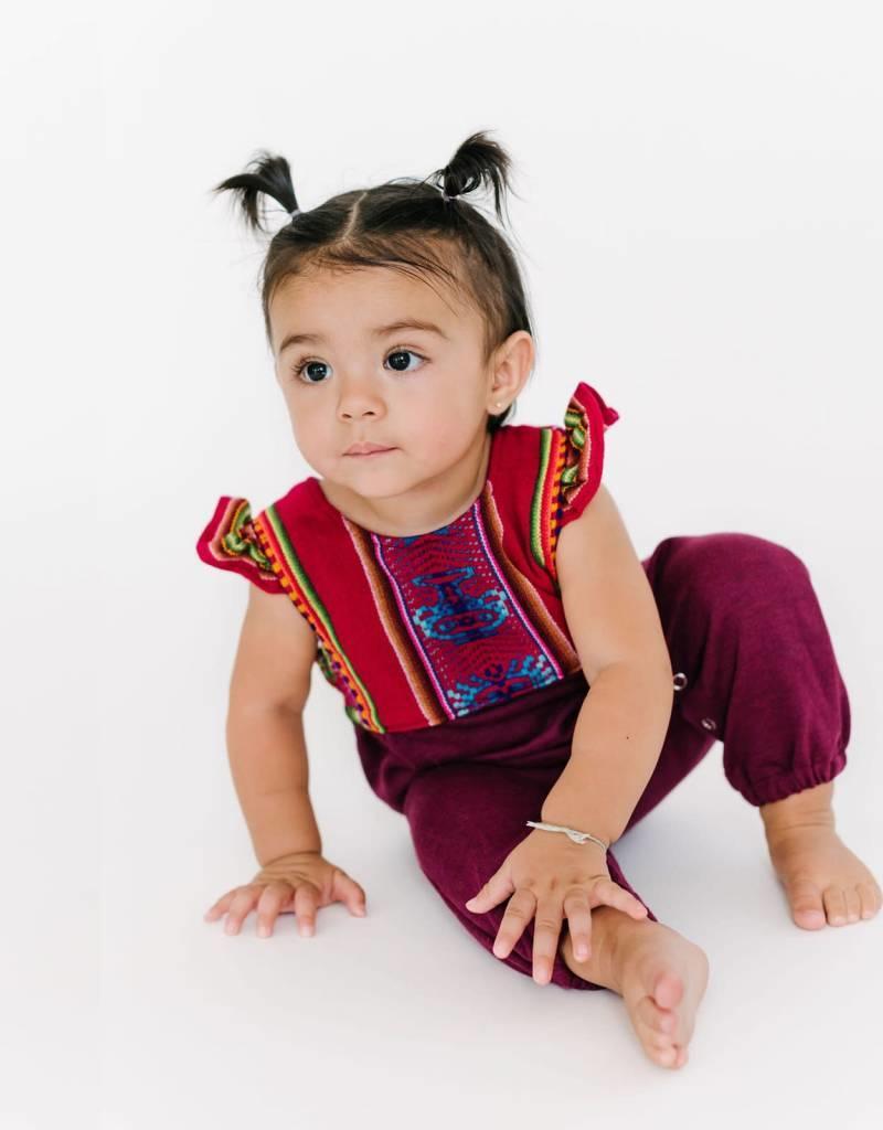 Folklore luisa baby romper