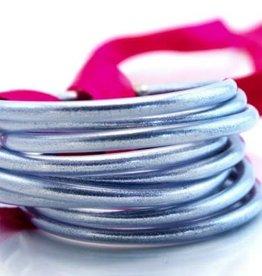BuDhaGirl bangles (set of 9)- silver