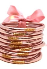 BuDhaGirl bangles (set of 9)- rose gold