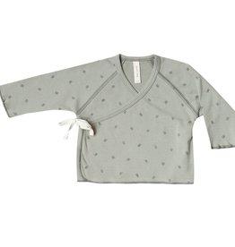 Quincy Mae kimono top- sage