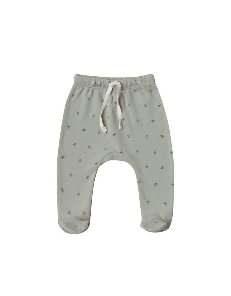 Quincy Mae footed pant- sage