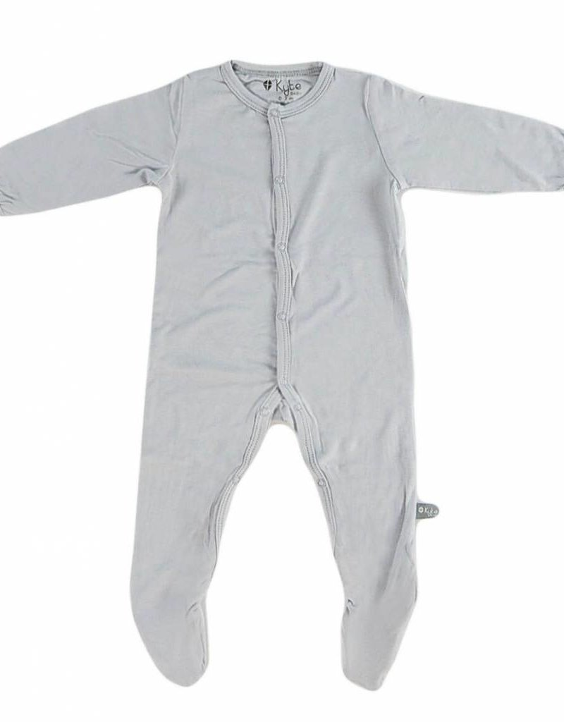 Kyte Baby layette footie- storm