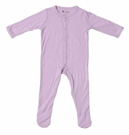 Kyte Baby layette footie- mauve