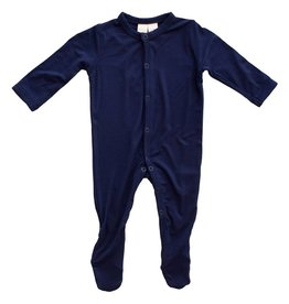 Kyte Baby layette footie- navy