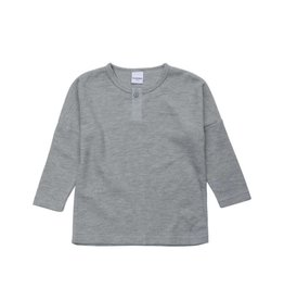 Superism dominic l/s tee- grey