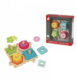 Janod turtles stackable puzzle