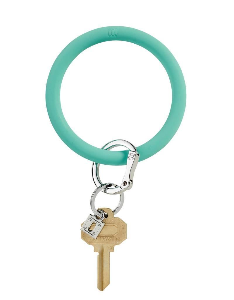 Big O Key Ring in the pool silicone