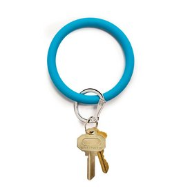 Big O Key Ring peacock silicone