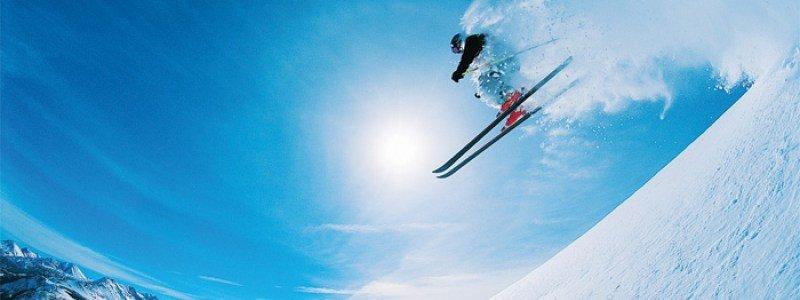 Ski on Home Page