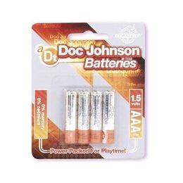 Doc Johnson Doc Johnson AAA Size Battery 4 Pack