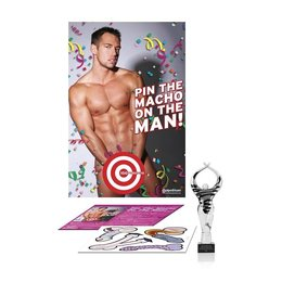 Pipedream Pin the Macho on the Man Game