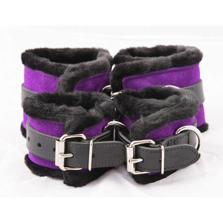 Bound 2 Please Bound 2 Please - Faux Fur Cuffs Set