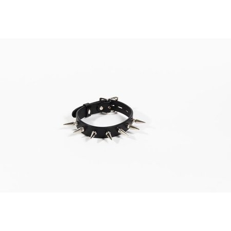 Sinvention Sinvention Leather Collar with Long Spikes