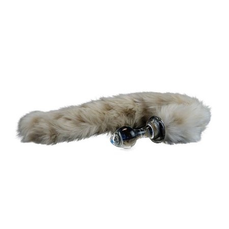 Crystal Delights Crystal Delights Minx Tail Plug - Snow Leopard