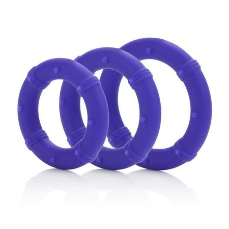 CalExotics Posh Silicone Love Rings