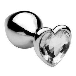 Frisky Icy Heart Jewel Anal Plug