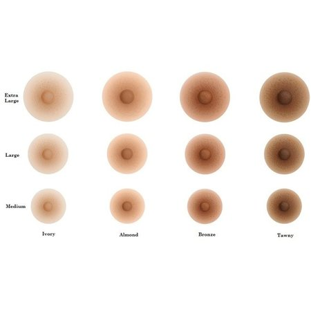Amolux Ruby Triangle Breast Forms - Size 12