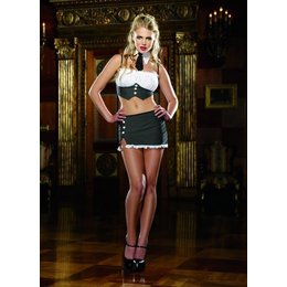 "Dreamgirl ""Office Tramp"" Lingerie Costume OS"