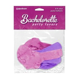 Pipedream Bachelorette Party Favors X-Rated Pecker Balloons