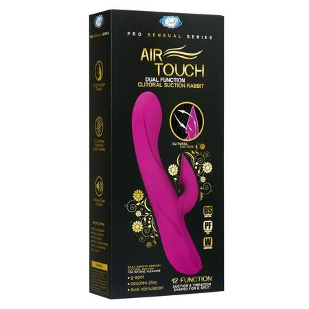 Air Touch II Dual Function Clitoral Suction Rabbit