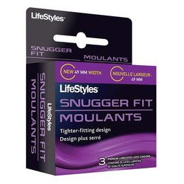 Lifestyles Condoms LifeStyles Snugger Fit Condoms 3 Pack