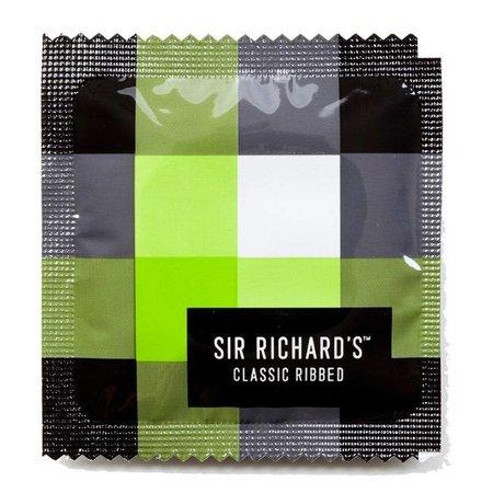 Sir Richard's Sir Richard's Classic Ribbed Condoms 12 Pack