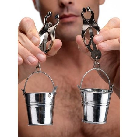 Master Series Master Series Jugs Nipple Clamps with Buckets