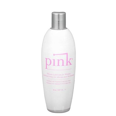 Pink Pink Silicone 8oz