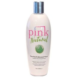 Pink Pink Natural Water-Based Lubricant 8oz