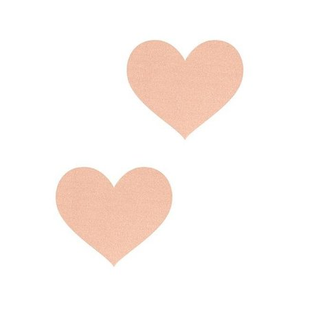 Peekaboos Nude Ambition Heart Pasties