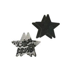 Peekaboos Satin & Lace Star Pasties