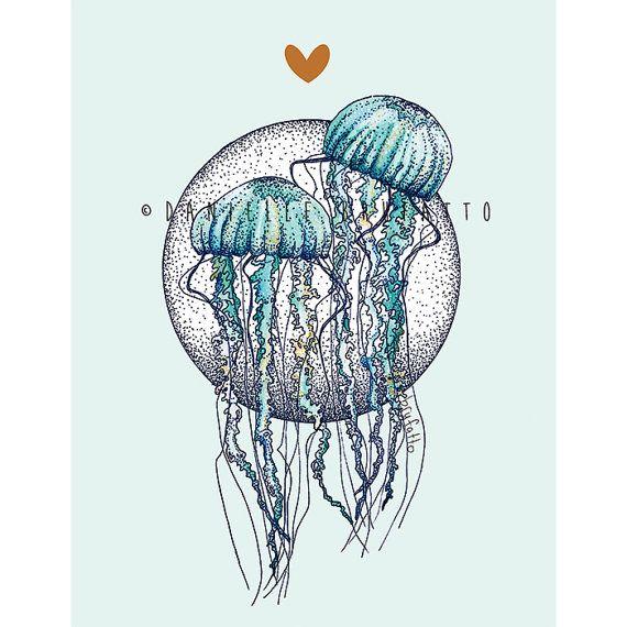 Brufatto Illustration Jelly Love Card