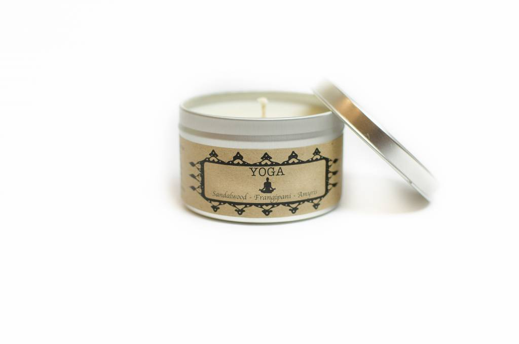 Salt Spring Island Candle Co. Yoga 8oz Candle