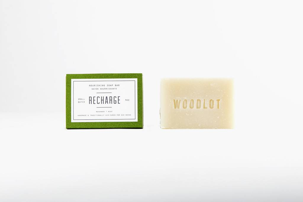 Woodlot Recharge Soap 4oz