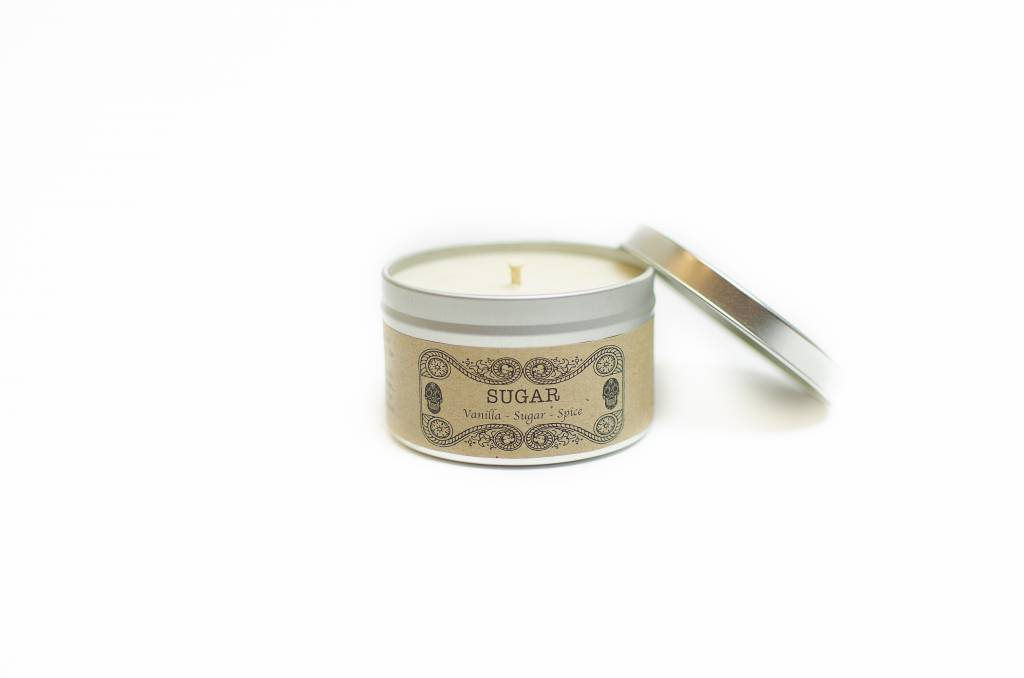 Salt Spring Island Candle Co. Sugar 8oz Candle