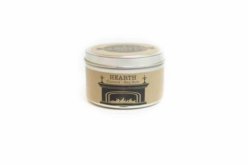 Salt Spring Island Candle Co. Hearth 8oz Candle