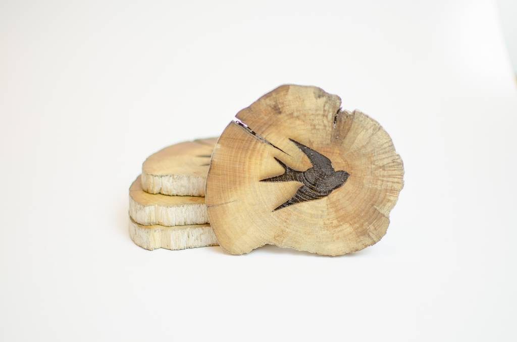 Studio Robazzo Swallow Coasters (x4)