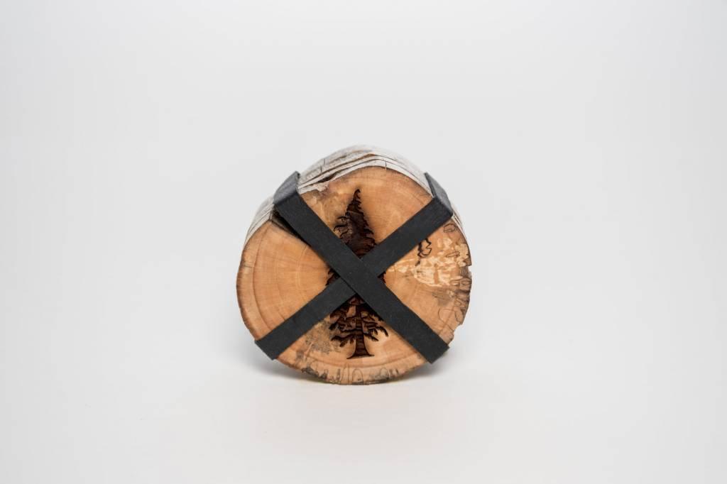 Studio Robazzo Tree Coasters (x4)